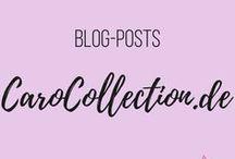 CaroCollection / Genähtes und DIY von meinem Blog