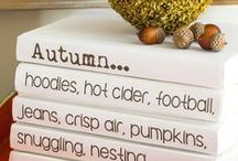 Autumn Dreaming / DIY Fall decorating ideas. Lifestyle, entertaining, and decorating ideas for Autumn. Fall Home Tours / by Diane Henkler {InMyOwnStyle.com}