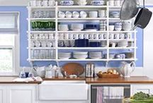 Decor: Kitchens / White Kitchen Decor / by Diane Henkler {InMyOwnStyle.com}