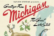 Detroit and Michigan Things / Great things in the state of Michigan and in Detroit / by Kelly Frosinos-Wozniak
