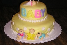 Baby Shower Cakes / Pops / by Peggy