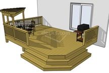 Decks .... and ideas / by Peggy Manton