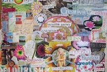 "Creative dream journal & Visionboarding / Journal your creative dreams in your Big Dreams, Small Wonders Visual Journal. My own visionboards, dreamboards and full moon mandala boards. We create our dream life and use visioning techniques and visionboards in my online course - ""Big Dreams, Small Wonders"" http://bigdreamssmallwonders.com/"
