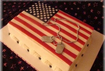 Military Cakes / by Peggy