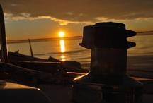 Atardecer Slow Sailing / Atardecer de diciembre en la bahía de Rosas