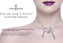 Valentine's Day Jewelry / Long-held promises, special words, personal stories… secrets enthrall us all. In time for Valentine's Day, Charriol's new collection is inspired by intrigue, and is based on the theme of locks and keys. http://bit.ly/gift-valentine