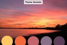 Creative Challenge - Sunsets / Each month, i challenge myself to creative using different materials inspired by an image from the area I live in Spain, on the Costa del Sol. Would you like to join us? More information here: https://www.facebook.com/groups/creativecostainspired/  This month is SUNSETS