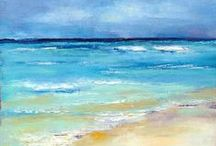 Art Love: Seascapes / For the love of the sea and ocean views.