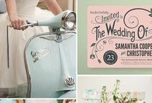 Retro Wedding / Classic ideas for a vintage wedding or party. / by Amie Heuschkel of Pretty Pig Design
