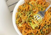 Spiralizer Recipes / Recipes that use the Spiralizer