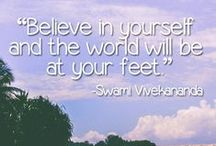 Yoga Quotes /  Who doesn't love a good yoga quote? Yoga quotes which will inspire you