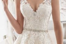 Bride Dresses / An inspiration for blushing brides searching for the perfect wedding dresses.