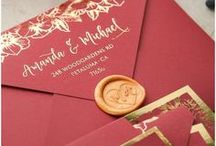 Wedding Invitations / Inspiration to help you plan and create your perfect wedding invitations.