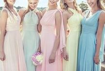 Bridesmaid Dresses / From long gowns to short cocktail dresses, we've got all the most beautiful bridesmaid dresses out there to guarantee your bridesmaids look amazing!