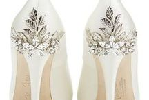 Wedding Shoes / Whether you're looking for wedding heels or wedding flats, you'll find all the most beautiful wedding shoes right here.