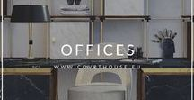 Office Ideas / The office can be considered a work space for a large type of persons but isn't a reason to not be a special and cozy space. Take a look at some office decor ideas. #officedecorideas #officeideas #homeofficedecor
