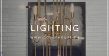 Lighting / Every home need lighting and every person need the right lighting for your space. #lightingdesign #lightinginspiration #interiordesigninspiration #homedecorideas