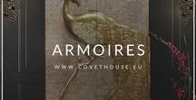 Armoires / If you are looking for Armoires for your design project, inspire yourself with this amazing ideas at this board! Check more Armoires at Covet House website: https://bit.ly/2IJCq5M