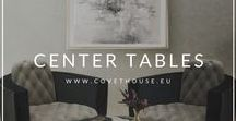 Center Tables / Amazing center tables at this board to inspire you for your home decor! To see more center tables check the Covet House website: https://bit.ly/2KKyiD6