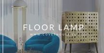 Floor Lamps / Luxury and unique ideas with Floor Lamp for your design! Take a look for a great Inspiration! See more Floor Lamps at Covet House website: https://bit.ly/2IEJS1U