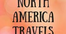 North America Travels / Travel inspiration, itineraries, ideas and tips for all countries in North America, like Canada, USA, Mexico. North American travel.