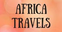 Africa Travels / Travel inspiration, itineraries, ideas and tips for all countries in Africa, like South Africa, Egypt, Morocco, Tanzania. African travel