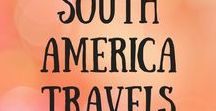 South America Travels / Travel inspiration, itineraries, ideas and tips for all countries in South America, like Brazil, Argentina, Chile, Peru. South American travel