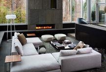 Living room Joan art