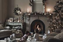 Christmas Decorating Joan art