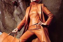 Leather fashion Joan art