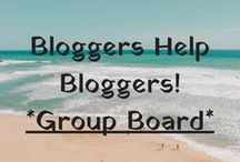 "Bloggers Help Bloggers! / Any post, keep it ""family friendly"" though please! Whole purpose of this group board is to help other bloggers by pinning their posts! Please re-pin for every pin you make to this board, no daily max. Message me to get added. Feel free to add contributors!"