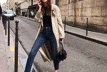 Looks / #mode #femme #parisian #paris #look