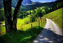 Schweiz Reiseideen / Von den Bergen bis in die Täler. Die Schweiz als Urlaubsgebiet.