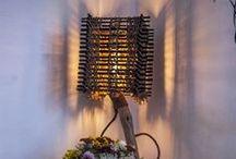 "Rustic Handmade Wooden Floor Lamp ""Fantezia"" / www.natureistheartist.webgarden.ro"