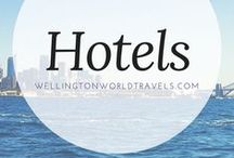 ⭐️Hotel Reviews⭐️ / List of places to stay, including their photos, information and our experience