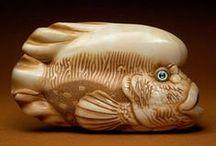 Netsuke Art / by Jean Tarbell Cotton