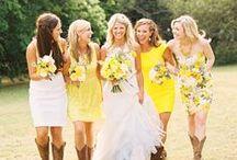 Yellow Wedding Inspiration / by Bella Figura Letterpress