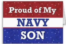 My Navy Boy- (Proud Navy Mom) / by Amanda Filbert