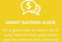 Save Money at Home / Want to be a savvy homeowner? Check out our best budget-friendly tips from POPSUGAR Smart Living and BrightNest so you can save money, spend wisely and make the most of your home!  / by BrightNest