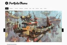 Best Wordpress Themes for Artists / Webdesign Templates and Themes for Artists