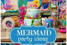 Mermaid Party / Under the sea, mermaid, ocean birthday party.