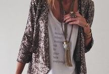 MADE OF GLITTER / Sparkle and glitter chic style.