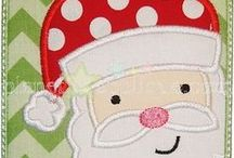 Applique and Embroidery Designs-Christmas / These are embroidery and applique designs that I've purchased that can be stitched onto an pieces created at PersonaliTy Children's Clothes