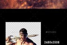 Amazing Photoshop effects / Great Photoshop actions, fonts, texts, patterns, tricks, tips to help process your photos !  The image manipulation art for beginners..