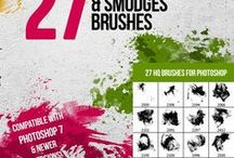 Photoshop Brushes / Must Have Photoshop Brushes. Great Photoshop Fonts. The image manipulation art for beginners..
