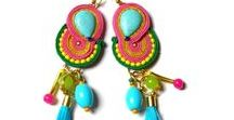 My soutache jewellery / I make colorful, fun jewelry. This board is all about it.