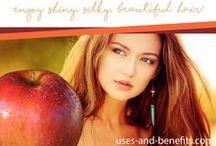 Apple Cider Vinegar Collection / Uses and benefits of apple cider vinegar