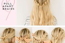 Hairstyles / My favorite quick & easy hairstyles for every occasion. Great ideas you can use for school or work. Styles, accessories, hair hacks, and more.