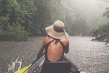She Paddles. / Get out on the water, any kind of water, with your boat, SUP or canoe. Just do it!