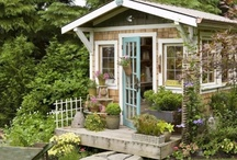 Garden Follies and Sheds / by Delores Arabian (Vignette Design)